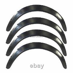 50mm Wide Universal Fender Flares Wheel Arch Extension Arches Trims JDM Set S13R