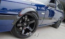 50mm Wide Universal Fender Flares Wheel Arch Extension Arches Trims JDM Set S3R