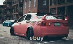 75mm Wide Universal Fender Flares Wheel Arch Extension Arches Trims JDM Set JDR
