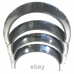 75mm Wide Universal Fender Flares Wheel Arch Extension Arches Trims JDM Set RUL