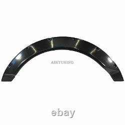 75mm Wide Universal Fender Flares Wheel Arch Extension Arches Trims JDM Set RUSN