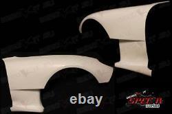 Aerokit R2 Front Wings Fenders WIDE bodykit Mazda RX7 FD