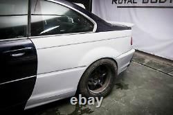 BMW 3 E46 Coupe Wide Body Quarter panels Drift Daily 10 pcs. Pre facelift PRIMED
