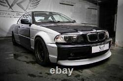 BMW 3 E46 Coupe Wide Body Quarter panels Drift Daily 4 pcs. Pre facelift PRIMED
