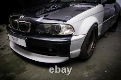 BMW 3 E46 Coupe Wide Body Quarter panels overfenders Drift Daily Body Kit 4 pcs