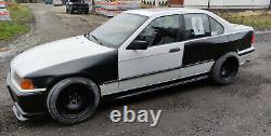 BMW E36 SEDAN / SALOON OVERFENDERS Bodykit Not Felony Form Drift Wide Body