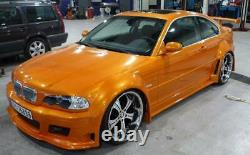 BMW E46 2 door wide arches / arch extensions fits 318-M3 fibreglass not bodykit