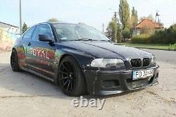 BMW E46 Coupe Prefacelift Non M3 Pandem Style Wide Fenders Wide Body Drift