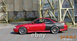 CARBON Wide Quarters +50mm for Nissan S14 S14a 200SX Silvia v8