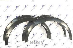 Dodge Challenger SRT 07-16 Fender Flares Wheel Arches Wide body ABS SET of 4 PCS