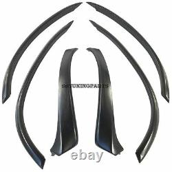 Extended Fender Flares Wheel Arch Extension Arches Trims Set (Fits BMW E53)