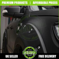 FITS Nissan Navara 2015-2021 Np300 Wide Wheel Arches Fender Flares Matte Black