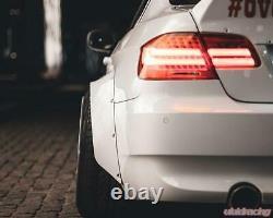 Fender Flares for BMW E90 E91 E92 CONCAVE Wide Body Wheel Arches 80mm 4pcs Set