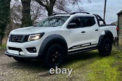 Fender Flares for Mitsubishi L200 Series 5 2016-2019 Wide Wheel Arch Extensions