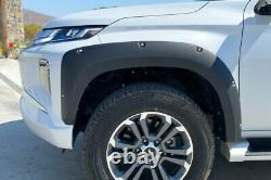 Fender Flares for Mitsubishi L200 Series 6 Wide Wheel Arch Extensions 2019+