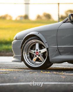 Fender Flares for Nissan Skyline R32 GTR wide body kit JDM wheel arch 2.0 4pcs