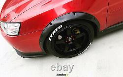 Fender Flares for Subaru Legacy wide body kit wheel arch JDM 2.0 50mm 4pcs set