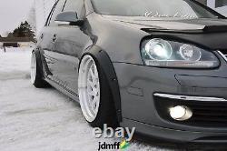 Fender Flares for Volkswagen Golf Mk5 wide body kit JDM wheel arch VW 50mm 4pcs