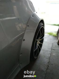Fender flares for Alfa Romeo 147 CONCAVE wide body wheel arches 70mm 4pcs set