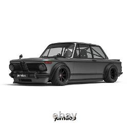Fender flares for BMW 2002 LEGEND wide body wheel arch ABS 4.3 110mm 4pcs