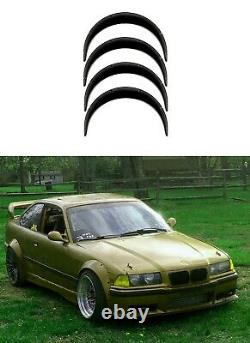 Fender flares for BMW 3 e36 wide body kit JDM wheel arches ABS 3.5 90mm 4pcs KL