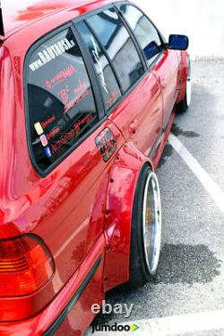 Fender flares for BMW 5 E39 CONCAVE wide body wheel arches 2.75 + 4.3 4pcs