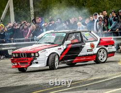 Fender flares for BMW E30 325i M3 CONCAVE wide body JDM wheel arches 70mm 4pcs