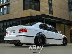 Fender flares for BMW E39 CONCAVE wide body wheel arches 535i 2.75 4pcs