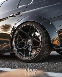 Fender flares for BMW E90 E91 E92 CONCAVE wide body wheel arches 70mm 4pcs set