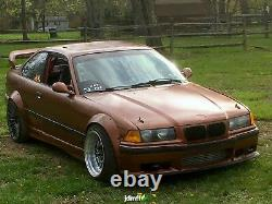Fender flares for BMW e36 wide body kit Arch Extensions ABS 90mm 3.5 4pcs set