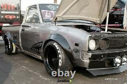 Fender flares for Datsun 620 wide body wheel arch truck JDM ABS 3.5 90mm 4pcs