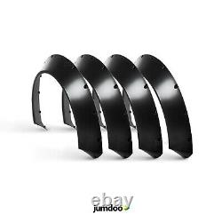 Fender flares for Ford Fiesta CONCAVE wide body wheel arches ST 2.75 70mm 4pcs