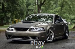 Fender flares for Ford Mustang 4th JDM over wide body wheel arches ABS 2.0 2pcs