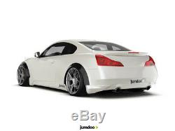 Fender flares for Infiniti G35 G37 CONCAVE wide body JDM wheel arches 2.75 4pcs