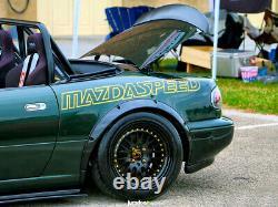 Fender flares for Mazda MX-5 Miata wide body kit JDM wheel arch ABS 2.0 4pcs