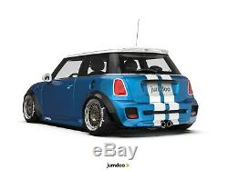 Fender flares for Mini Cooper CONCAVE wide body JDM wheel arches ABS 70mm 4pcs