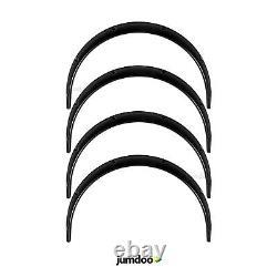 Fender flares for Mitsubishi Lancer JDM wide body kit wheel arch ABS 50mm 4pcs