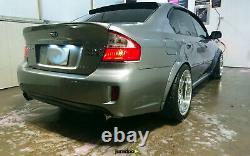 Fender flares for Subaru Liberty wide body JDM kit wheel arch 50mm 4pcs full set