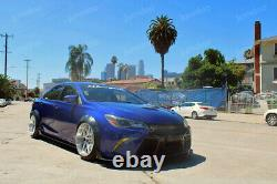 Fender flares for Toyota Camry XV50 wide body kit wheel arch JDM 3.5 90mm 4pcs