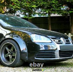 Fender flares for Volkswagen Golf mk5 CONCAVE wide body wheel arches 90mm 4pcs