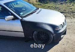 For BMW 3 E46 Compact Wide Body Quarter panels Drift Daily Body Kit 4 pcs