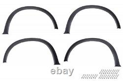 For BMW E70 X5 07-13 Wide AERO Fender Flares ABS Wheel Flares Moulding Spoiler