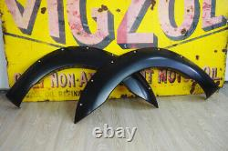 For Ford Ranger T8 Wheel Arch Extentions Insuction Wide with Rivet Park Assist