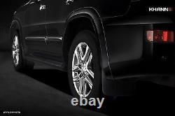 For LEXUS LX570 2012-2015 KHANN WIDE BODY WHEEL ARCH EXTENDER FENDER FLARES