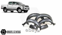 For Toyota Hilux 2006-11 Wide Body Wheel Arches Fender Flares Riveted Style Vigo