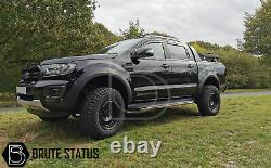 Ford Ranger 2015-2020 Wide Body Wheel Arches Fender Flares T7 OEM Raptor Style