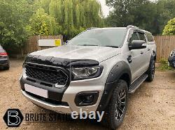 Ford Ranger 2019-2020 Wide Body Wheel Arches Fender Flares T8 Latest Model