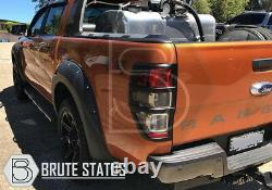 Ford Ranger 2019-2020 Wide Body Wheel Arches Fender Flares T8 Park Assist