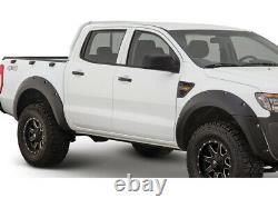 Ford Ranger T6 2011-2015 Wide Wheel arch Kit Modified Bolt Look Matte Black