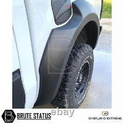 Ford Ranger T6 Wide Body Wheel Arches 2011-15 Fender Flares (Overland Extreme)